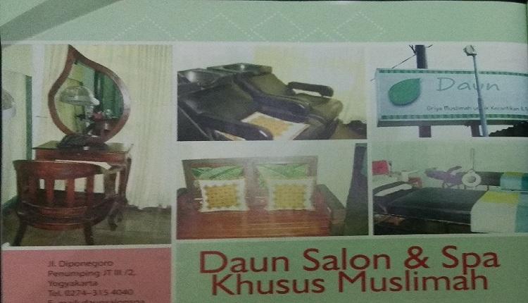 Daun Salon dan Spa Muslimah