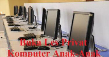 Buka Les Privat Komputer Anak-Anak